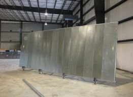 Completed panels for Trinidad - up to 32 feet long